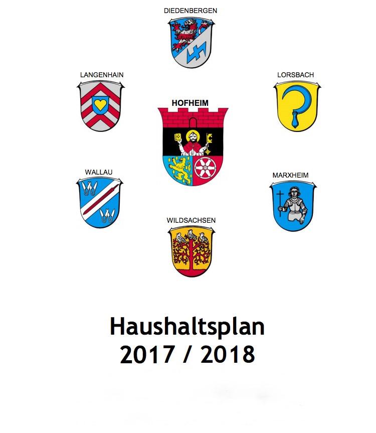 Stellungnahme der CDU-Fraktion zum Hofheimer Haushaltsplan 2017/2018